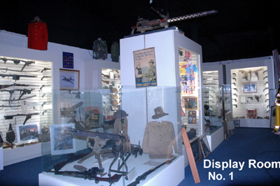 artifact display room